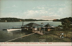 Boat Landing, Lincoln Park, Lake Quinsigamond