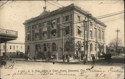 U.S. Post Office & Court House Postcard