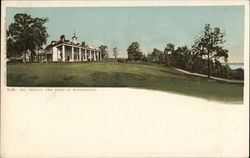 Mount Vernon - Home of George Washington Postcard