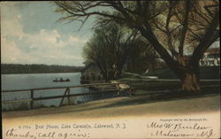 Boat House, Lake Carasalio