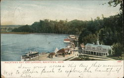 Macatawa Bay and Landing Postcard