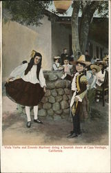 Casa Verdugo - Children doing a Spanish Dance