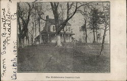 Middletown Country Club Postcard