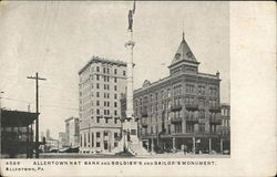Allentown Nat Bank and Soldier's and Sailor's Monument
