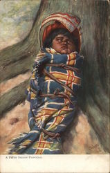 A Piote Indian Papoose