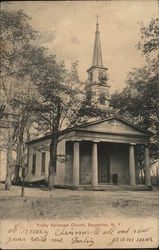 Trinity Eposcopal Church Postcard