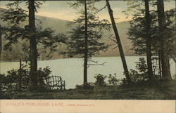 Gould's Furlough Lake, Catskill Mountains Postcard