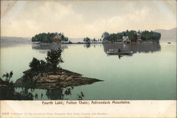 Fourth Lake; Fulton Chain; Adirondack Mountains