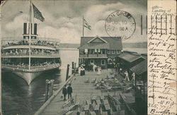 "Landing of ""The Albany"""