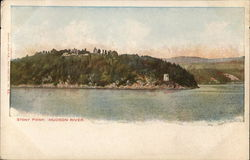 Stony Point, Hudson RIver Postcard