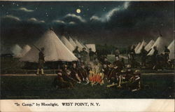 """In Camp."" by Moonlight"