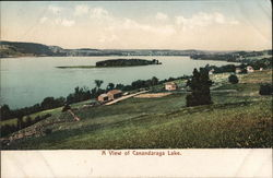 Canandaraga Lake Postcard