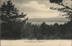 View of Seneca Lake