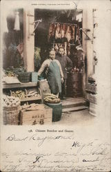 Chinese Butcher and Grocer