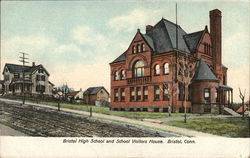Bristol High School and School Visitors House