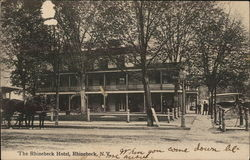 The Rhinebeck Hotel Postcard