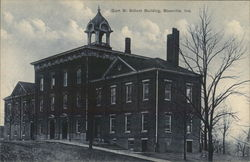 Gum St. School Building Postcard