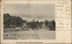 From The Town, Milton-On-Hudson