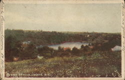 Lake Ophelia Postcard