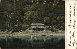 Esopus Club House, Esopus Creek Postcard