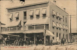 The Exchange Hotel Postcard