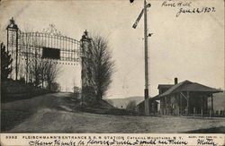 Fleischmann's Entrance & R.R Station