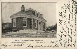 Morton Memorial Library, Catskill Mountains