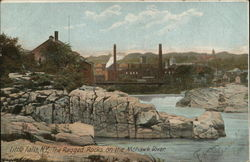 The Ragged Rocks on the Mohawk River Postcard