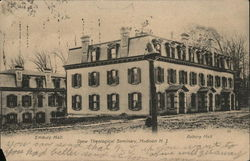 Drew Theological Seminary - Embury and Asbury Halls Postcard