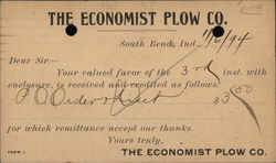 The Economist Plow Co.