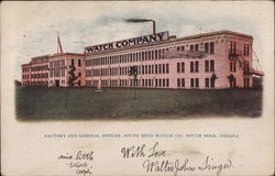Factory and General Offices, South Bend Watch Co.
