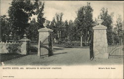Entrance to Riverview Cemetary