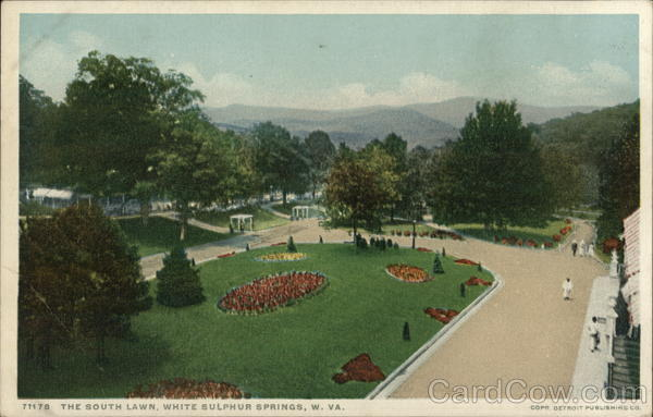 The South Lawn White Sulphur Springs West Virginia