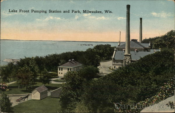 Lake Front Pumping Station and Park Milwaukee Wisconsin