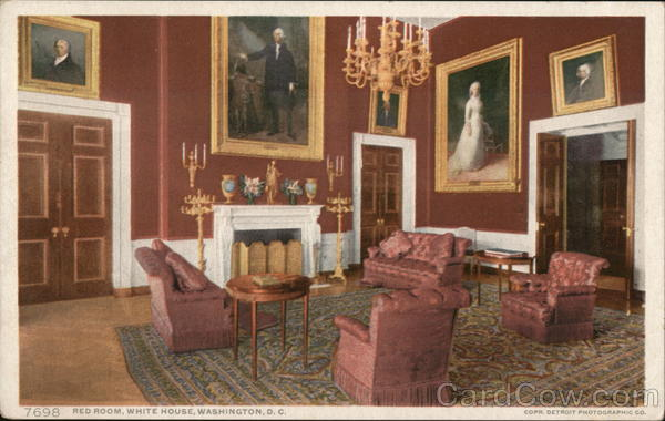 Red Room, White House Washington District of Columbia