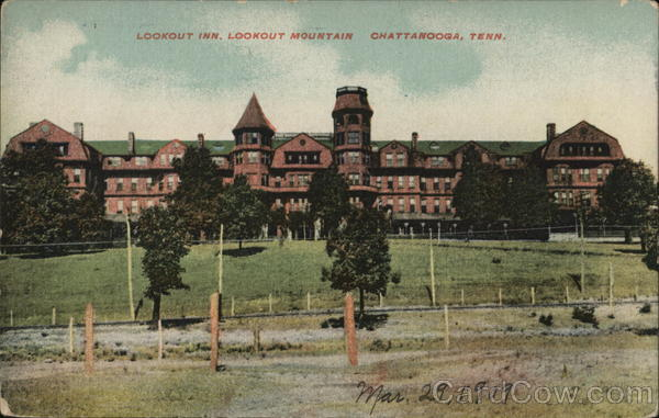 Lookout Inn, Lookout Mountain Chattanooga Tennessee