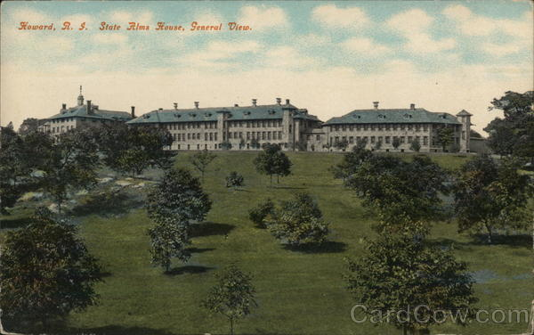 General View, State Alms House, Howard Cranston Rhode Island
