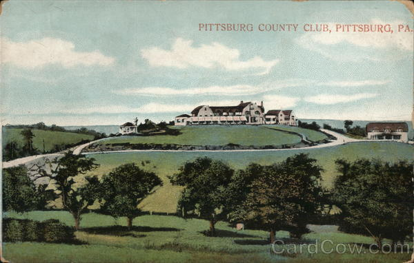 Pittsburg County Club Pittsburgh Pennsylvania
