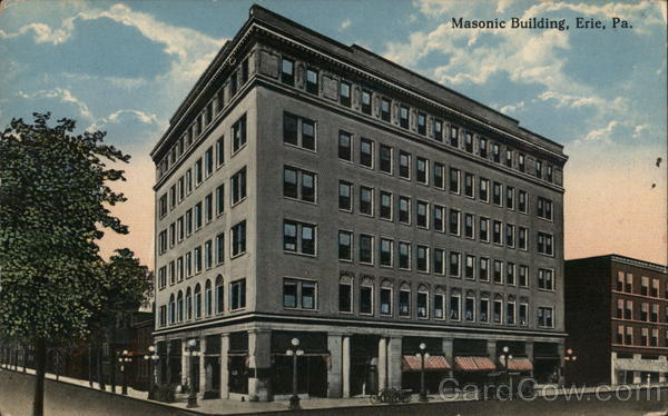 Masonic Building Erie Pennsylvania