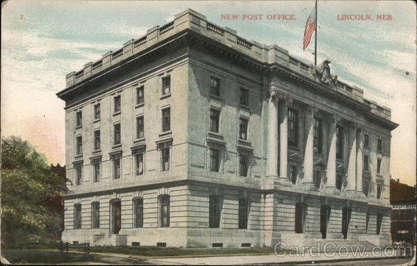 New Post Office Lincoln Nebraska