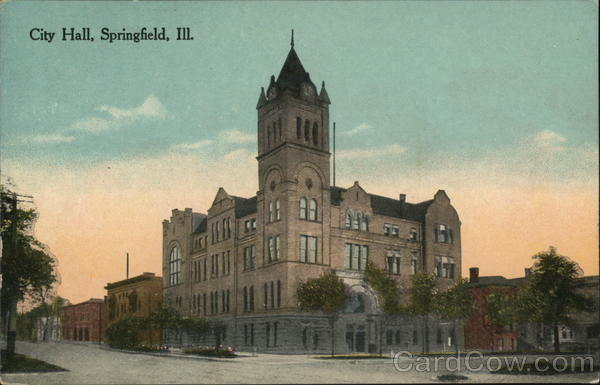 City Hall Springfield Illinois