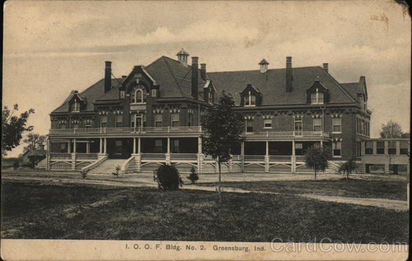 I.O.O.F. Building No.2 Greensburg Indiana