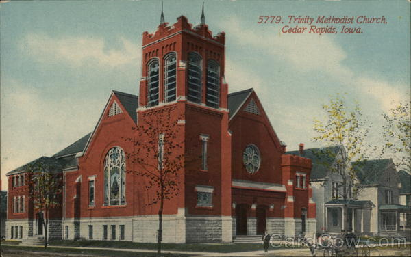 Trinity Methodist Church Cedar Rapids Iowa