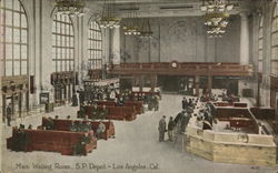 Main Waiting Room, Southern Pacific Depot