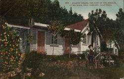 Joaquin Miller, Poet of the Sierras, at his Home