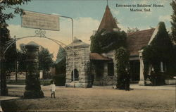 Entrance to Soldiers' Home