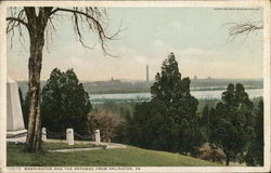 Washington and the Potomac from Arlington
