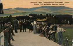 Southern Pacific Passengers From the Shasta Limited