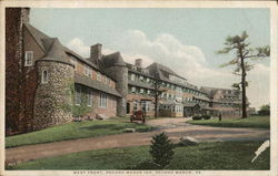 West Front, Pocono Manor Inn