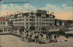 North End Hotel Postcard